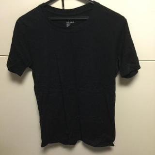 MUJI (無印良品) - 良品計画/無印良品Tシャツ/黒/Mサイズ/USED