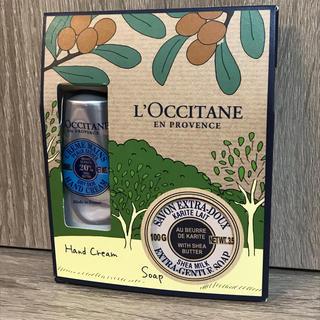L'OCCITANE - 新品未使用@ロクシタン シアシリーズ ハンドクリーム30ml&ソープ100g