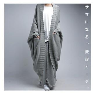 antiqua - 新品 アンティカ 2Way ざっくりカーデ