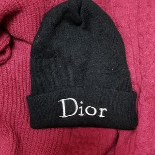 ディオール(Dior)のディオールニット帽子《ノベルティー》(ニット帽/ビーニー)