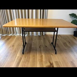 ウニコ(unico)の【値下げ】unico ウニコ ダイニングテーブル★FANEATファニート (ダイニングテーブル)