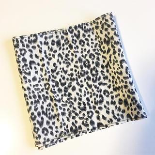 マウジー(moussy)の新品未使用 レオパード柄スカーフ(バンダナ/スカーフ)