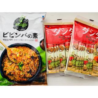 コストコ(コストコ)の韓国料理★ビビンバの素 ダシダ24本 牛肉だしの素(調味料)