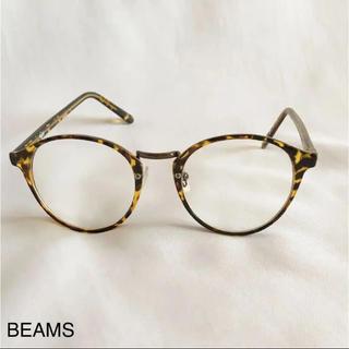 ビームス(BEAMS)の値下げ!BEAMS NOEYEDIA 伊達眼鏡 べっ甲 レディース(サングラス/メガネ)