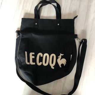 ルコックスポルティフ(le coq sportif)のルコック トートバッグ黒(トートバッグ)