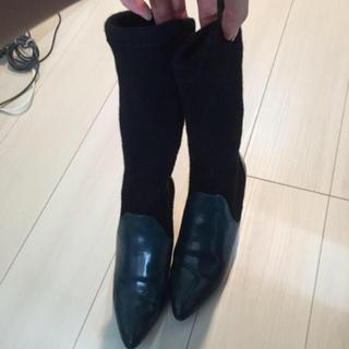 ムルーア(MURUA)のソックスブーツ(ブーツ)