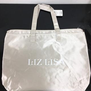 ロゴトートバッグ ベージュ LIZ LISA 新品 未使用 送料込み