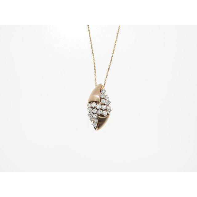 【K18PG】2.00ct UP ダイヤモンドネックレス レディースのアクセサリー(ネックレス)の商品写真