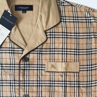 BURBERRY - 追加画像   レア! BURBERRY パジャマシャツ ビッグシルエット 正規品