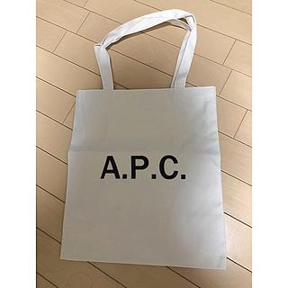 A.P.C - apc トートバッグ ホワイト