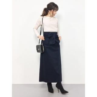 IENA SLOBE - SLOBE IENA ビッグリボンタイトスカート