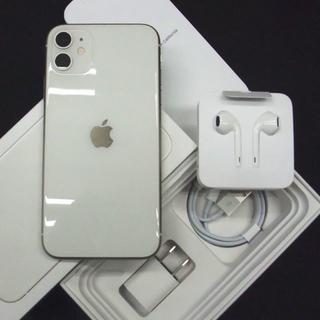 Apple - SIMフリー・利用制限◯ iPhone11 64GB ホワイト