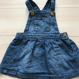 babyGAP - 【baby GAP】デニムジャンパースカート 80