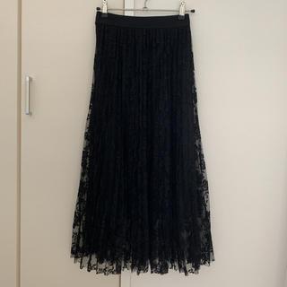 セシルマクビー(CECIL McBEE)のロングプリーツスカート(ロングスカート)