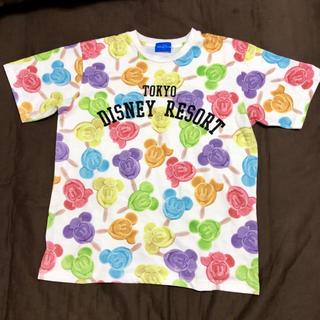 Disney - ディズニー Tシャツ TDR disney resort アイスキャンディー柄