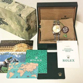 ROLEX - 本物 ロレックス デイトジャスト 16233 S番 完品 仕上げ済
