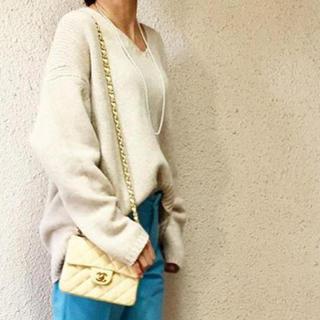 DEUXIEME CLASSE - GALERIE VIE ファインウールVネックセーター