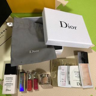 ディオール(Dior)のディオール 試供品と下地のセット(サンプル/トライアルキット)