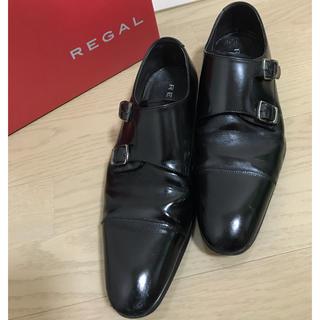 リーガル(REGAL)のREGAL リーガル 黒 24cm ビジネスシューズ(ドレス/ビジネス)