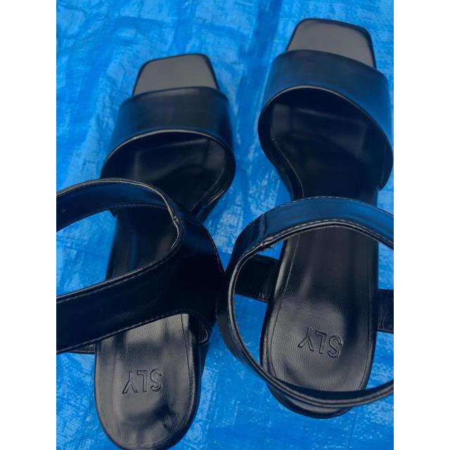 SLY(スライ)のSLY ベルトヒールサンダル レディースの靴/シューズ(サンダル)の商品写真