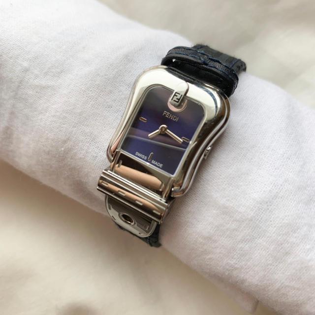FENDI(フェンディ)の【稼働品】良品!フェンディ▪️レディースウォッチ レディースのファッション小物(腕時計)の商品写真
