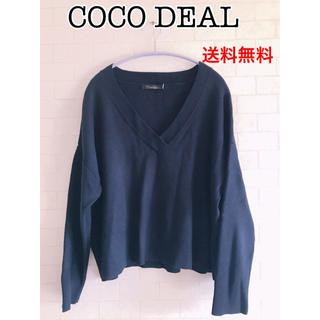 COCO DEAL - COCO DEAL Vネックニット