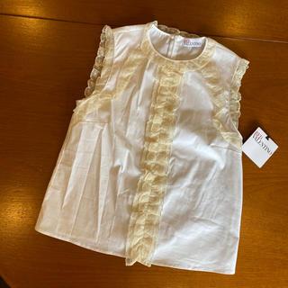 RED VALENTINO - 新品未使用♡RED VALENTINO♡レースホワイトシャツブラウス♡白シャツ