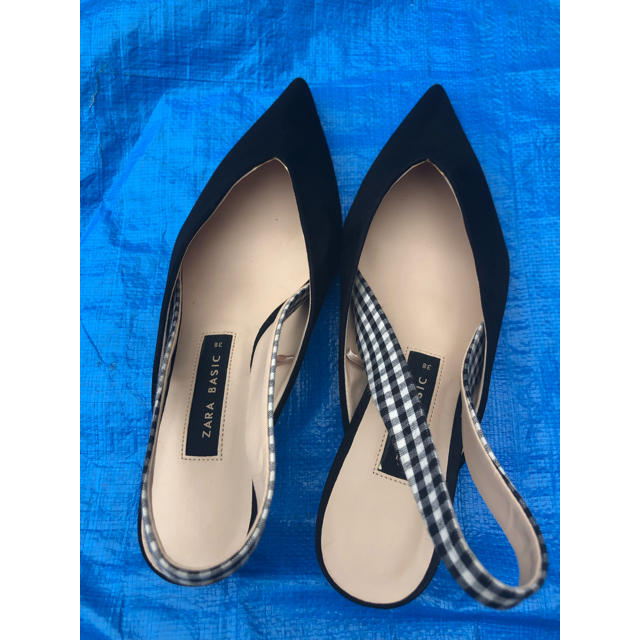 ZARA(ザラ)のzara  ローヒールサンダル レディースの靴/シューズ(サンダル)の商品写真