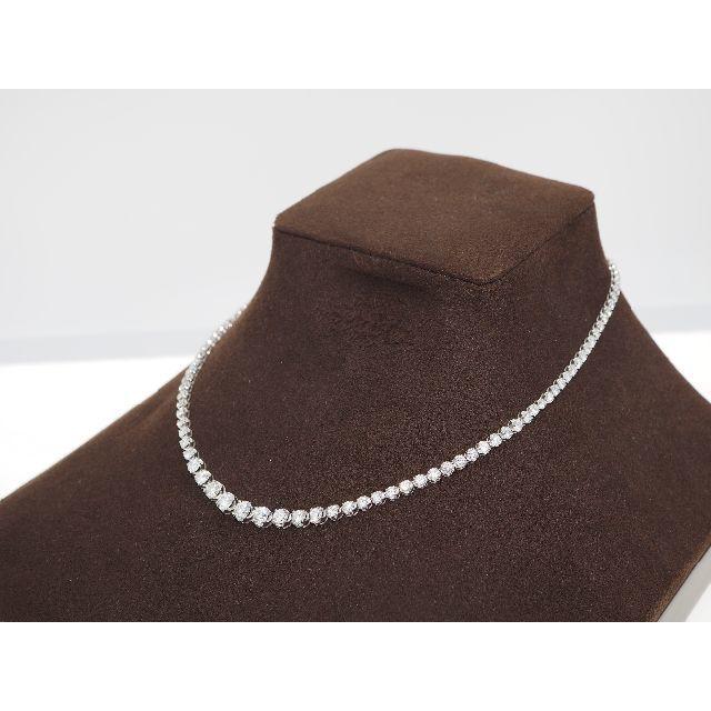 【10.070ct UP 】PT850ダイヤモンドネックレス レディースのアクセサリー(ネックレス)の商品写真