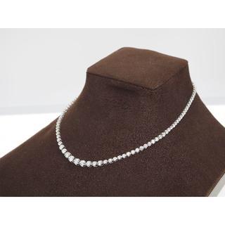【10.070ct UP 】PT850ダイヤモンドネックレス(ネックレス)