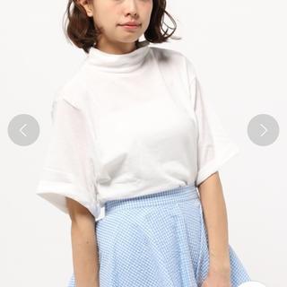 カスタネ(Kastane)の5分袖 ハイネックプルオーバーTシャツ(Tシャツ(半袖/袖なし))