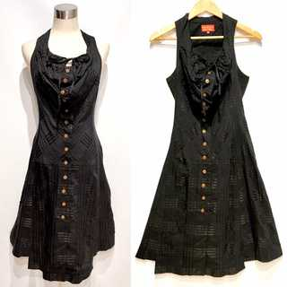 ヴィヴィアンウエストウッド(Vivienne Westwood)のヴィヴィアンウエストウッド リボンタイ ドレス ワンピース イタリア製(ロングワンピース/マキシワンピース)