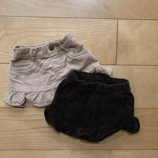 ベビーギャップ(babyGAP)のGAP コーデュロイスカート&パンツ 80cm(スカート)