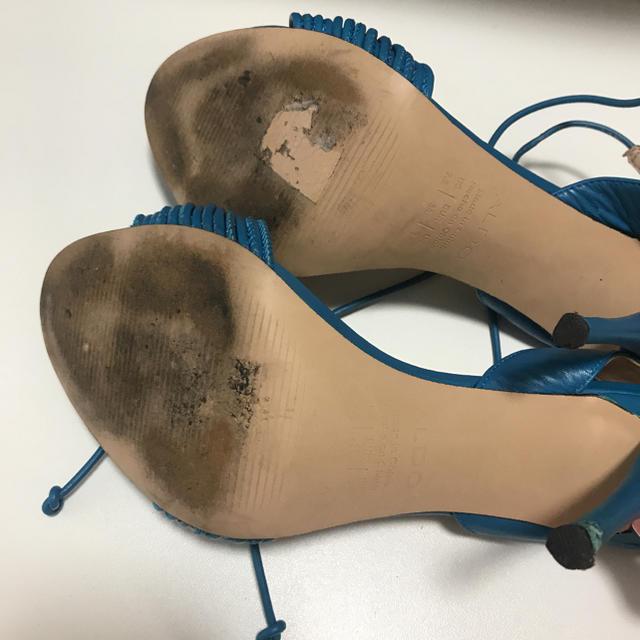 ALDO(アルド)のサンダル  ターコイズブルー パンプス ハイヒール ALDO ザラ レディースの靴/シューズ(ハイヒール/パンプス)の商品写真