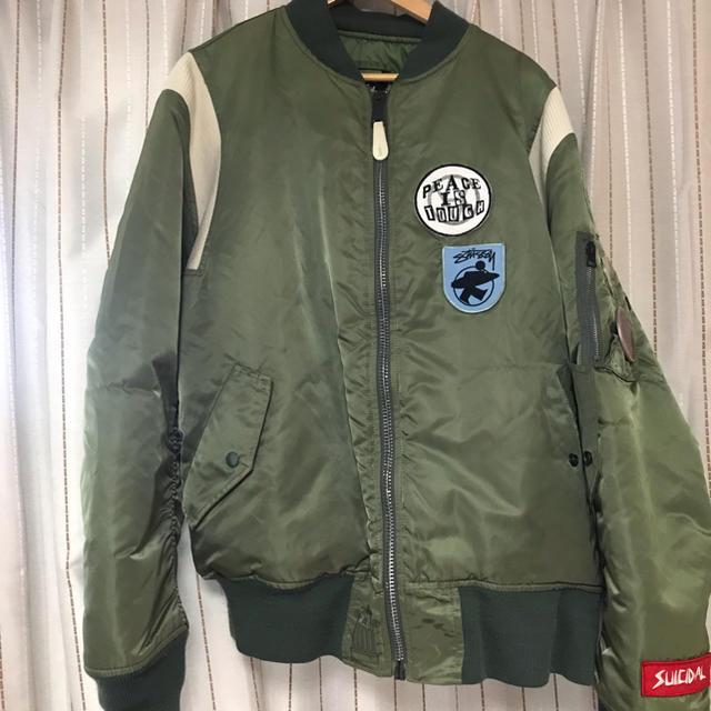 STUSSY(ステューシー)の専用 メンズのジャケット/アウター(フライトジャケット)の商品写真