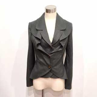 ヴィヴィアンウエストウッド(Vivienne Westwood)の新品同様 ヴィヴィアンウエストウッド 重ね着風 ウール ラブジャケット(テーラードジャケット)