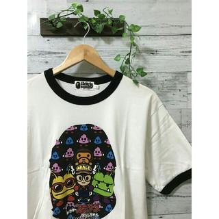 A BATHING APE - A BATHING APE × アラレちゃん コラボTシャツ
