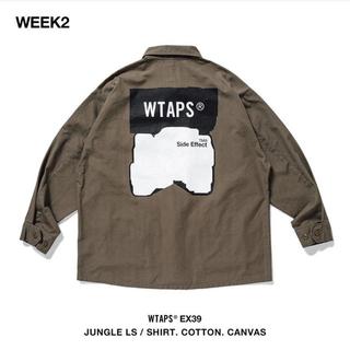 W)taps - wtaps  JUNGLE LS / SHIRT. COTTON. CANVAS