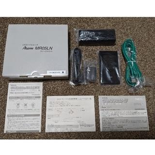 NEC - モバイルルータ Aterm MR05LN 3B クレードルセット