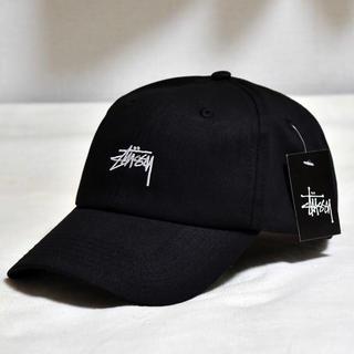 STUSSY - stussy キャップ ブラック 黒