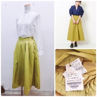 RayCassin - 【定価 6,490 円】☆新品☆レイカズン難あり綿ワッシャー横ボタンスカート