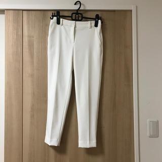 PLST - 【美品】PLST  スティックパンツ ホワイト