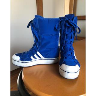 アディダス(adidas)のウィンターシューズ(ブーツ)