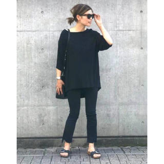 DEUXIEME CLASSE - MOTHER insider crop black 25