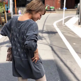 TODAYFUL - TODAYFUL Backprint Long T-Shirts 試着のみ
