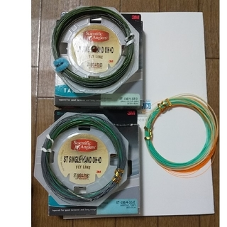 ティムコ(Tiemco)のフライライン オーバーヘッド&ディー シングルハンド 3本セット     (釣り糸/ライン)
