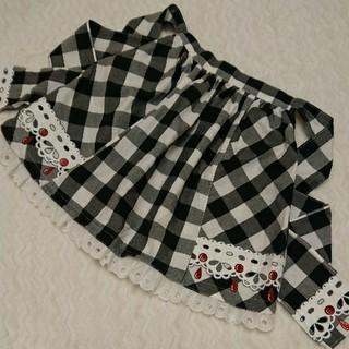 シャーリーテンプル(Shirley Temple)のShirleyTemple ギンガムチェック スカート 140 シャーリー(スカート)