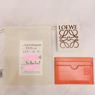 LOEWE - LOEWE ロエベ  カードホルダー キャッシュレス化 クレジットカードケース
