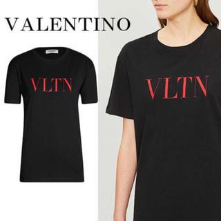 ヴァレンティノ(VALENTINO)のValentino Tシャツ black×red ブラック レッド 黒 赤 XS(Tシャツ/カットソー(半袖/袖なし))