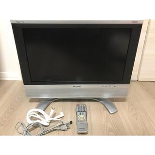 SHARP - 液晶テレビ シャープ AQUOS